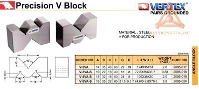 Chi tiết  khối v chính xác hãng Vertex
