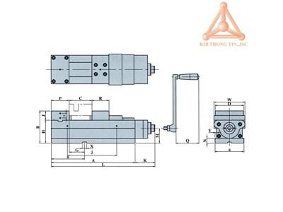 ÊTÔ CƯỜNG LỰC VQC-100; VQC-125; VQC-160; VQ