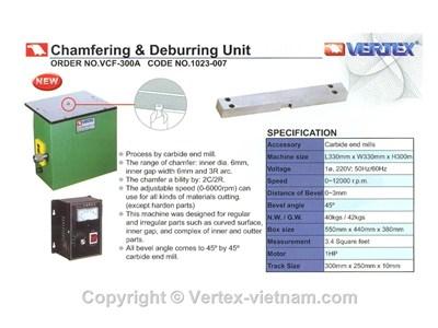 Chi tiết Máy vat mép và làm cùn cạnh sắc VCF-300A