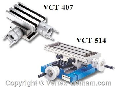 BÀN MÁY PHAY VCT-407, VCT-514, VCT-820, VCT-1024