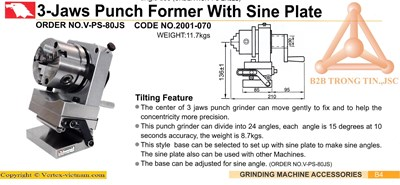 Chi tiết bản vẽ bộ gá kẹp nghiêng trên máy mài dạn