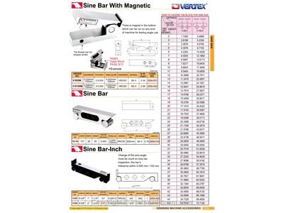 Chi tiết Thanh góc nghiêng VS-100 hãng Vertex