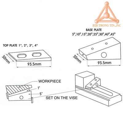 Bản vẽ bộ căn góc AB-113 Hãng Vertex