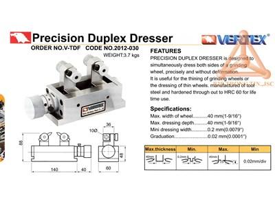 Chi tiết đồ gá sửa đá chính xác mã V-TDF hãng Vert
