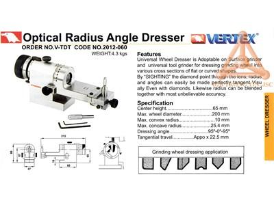 Chi tiết đồ gá sửa đá mã V-TDT hãng Vertex