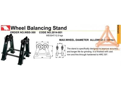 Chi tiết thiết bị cân bằng động đá mài WBS-300 hãn