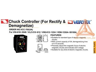 Chi tiết bộ điều khiển bàn từ điện hãng Vertex