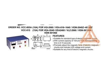 Chi tiết bộ điều khiển bàn từ điện VCC-805A, VCC-8