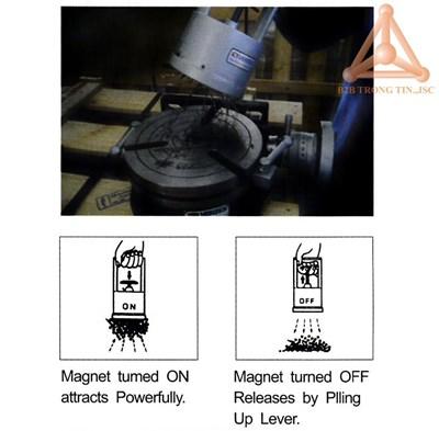 Bản vẽ thiết bị thu phoi bằng từ tính mã VCP-15 hã