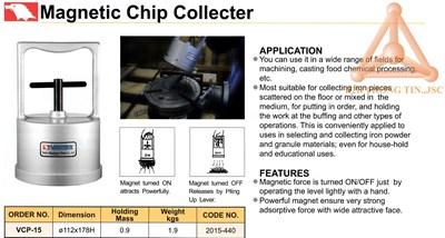 Chi tiết thiết bị thu phoi bằng từ tính mã VCP-15
