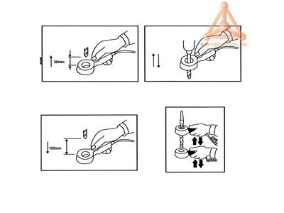 Bản vẽ thiết bị khử từ dạng vòng hãng Vertex