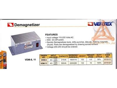 Chi tiết thiết bị khử từ hãng Vertex