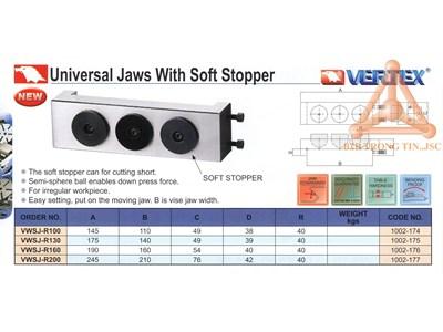 Chi tiết Má kẹp ê tô loại mềm hãng Vertex