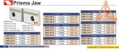 Chi tiết Má kẹp ê tô thay thế hãng Vertex