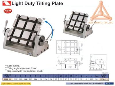 Chi tiết Bàn máy nghiêng tải trọng nhẹ mã vu-2122