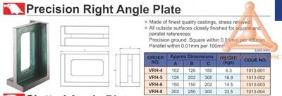 Chi tiết tấm ke góc vuông chính xác hãng Vertex