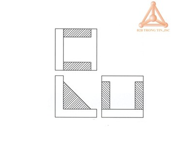 Bản vẽ Tấm góc vuông phẳng hãng Vertex