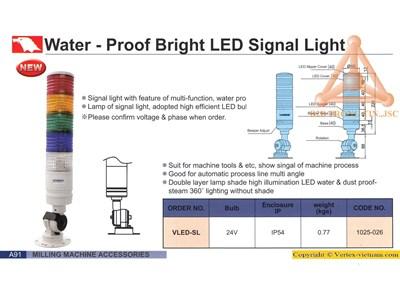 Chi tiết Bộ tín hiệu đèn LED chống nước hãng Verte