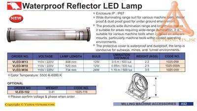 Chi tiết Đèn LED chống nước hãng Vertex