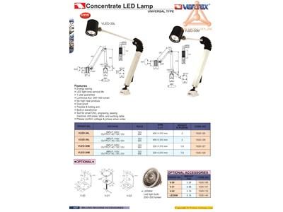 Chi tiết Đèn LED độ sáng tập trung hãng Vertex