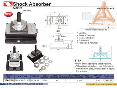 Chi tiết Thiết bị giảm rung động máy VSA-150H
