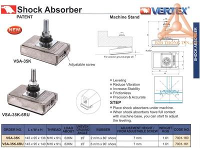 Chi tiết Thiết bị giảm rung động máy VSA-35K