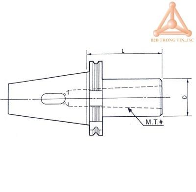 Bản vẽ ống nối SK-MT (DIN)
