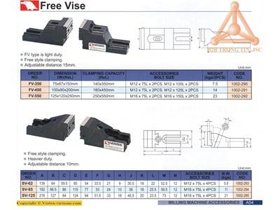 Chi tiết Má kẹp ê tô hãng Vertex