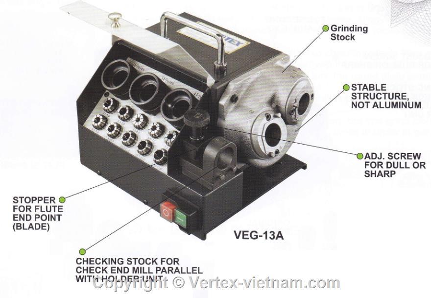 Máy mài dao phay VEG-13A, VEG-25A